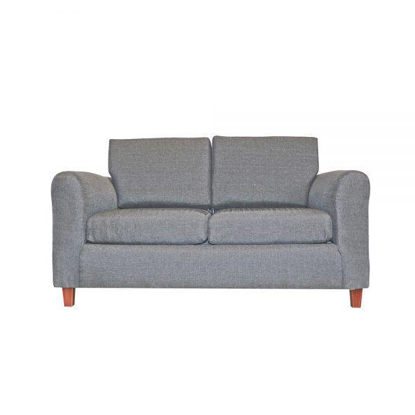 Living Delfos Sofa 2 Cuerpos 2 Sitiales Gris 2