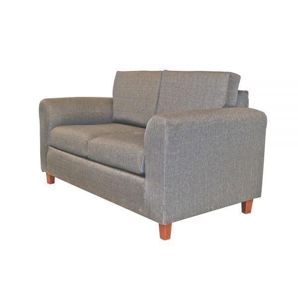 Living Delfos Sofa 2 Cuerpos 2 Sitiales Gris 3