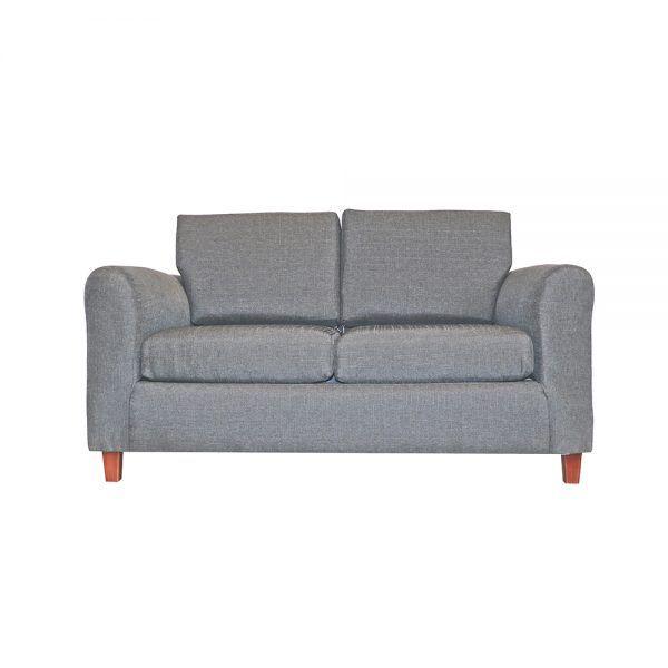 Living Delfos Sofa 2 Cuerpos Sillones Gris 2
