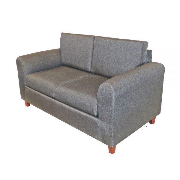 Living Delfos Sofa 2 Cuerpos Sillones Gris 3