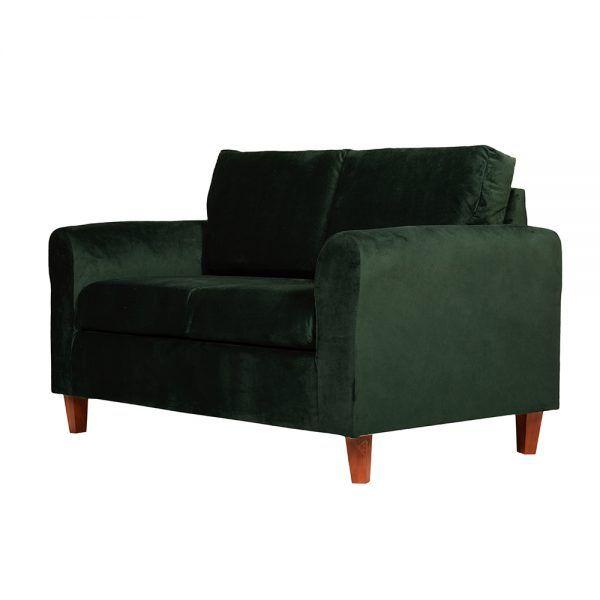 Living Delfos Sofa 2 Cuerpos Sitiales Verde 4