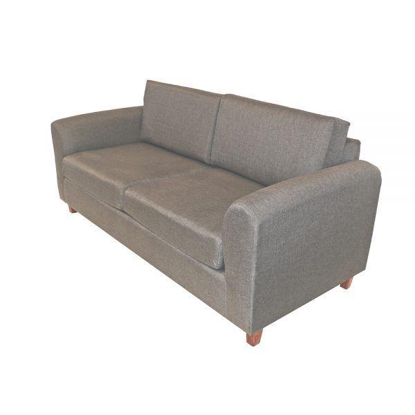 Living Delfos Sofa 3 Cuerpos Sillones Gris 3