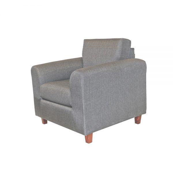 Living Delfos Sofa 3 Cuerpos Sillones Gris 5