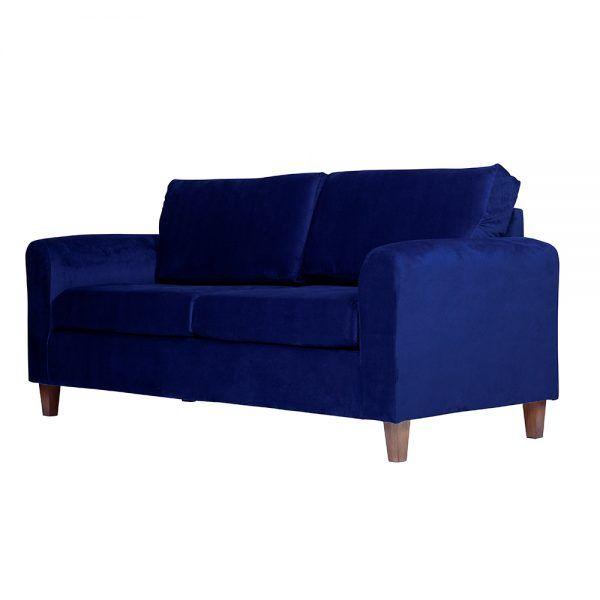 Living Delfos Sofa 3 Cuerpos Sitiales Azul 4