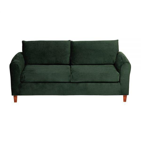 Living Delfos Sofa 3 Cuerpos Sitiales Verde 3