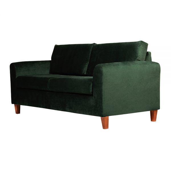 Living Delfos Sofa 3 Cuerpos Sitiales Verde 4