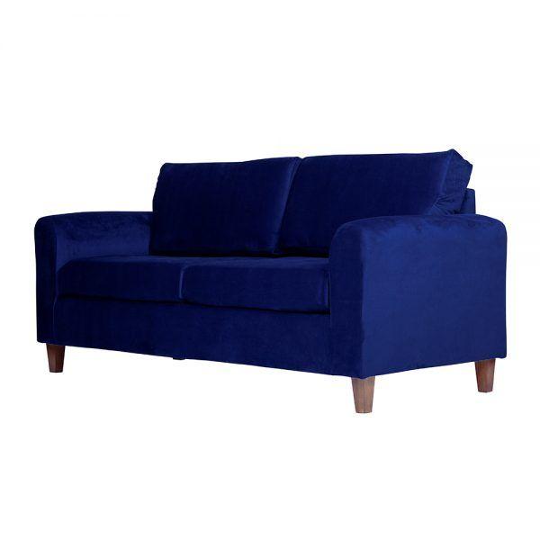 Living Delfos Sofa 3 Cuerpos Sofa 2 Cuerpos Azul 4