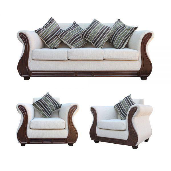 Living Facundo Sofa 3 Cuerpos 2 Sillones Beige 1