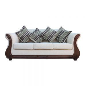 Living Facundo Sofa 3 Cuerpos 2 Sillones Beige 2