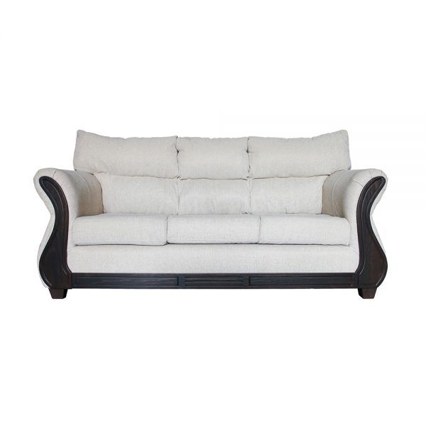 Living Galileo Sofa 3 Cuerpos 2 Sillones Beige 2