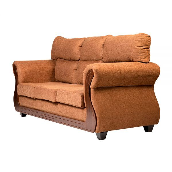 Living Galileo Sofa 3 Cuerpos 2 Sillones Cafe 4