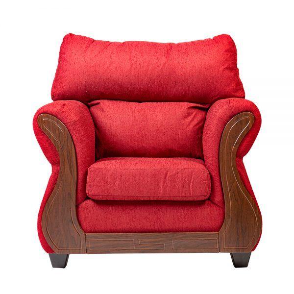 Living Galileo Sofa 3 Cuerpos 2 Sillones Rojo 5