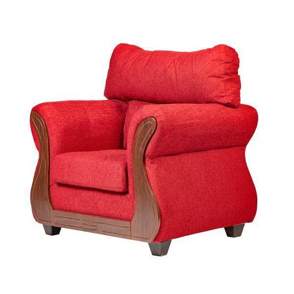 Living Galileo Sofa 3 Cuerpos 2 Sillones Rojo 7