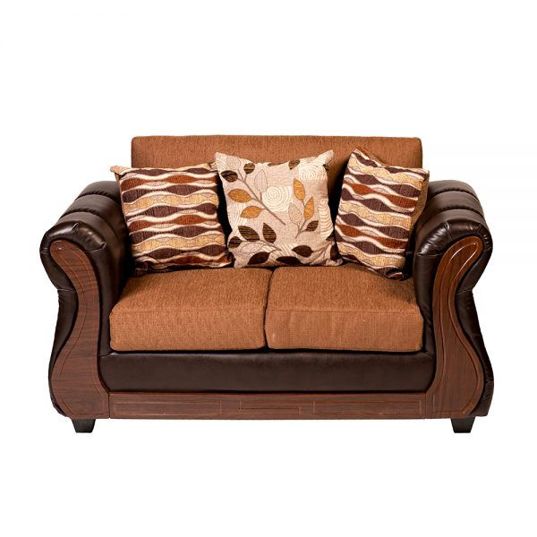 Living Hamilton Sofa 2 Cuerpos 2 sillones Cafe 3