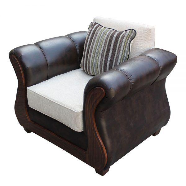 Living Homero Sofa 3 Cuerpos 2 Sillones Beige 4