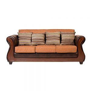 Living Homero Sofa 3 Cuerpos 2 Sillones Cafe 2