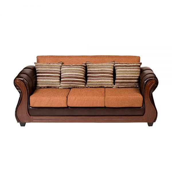 Living Homero Sofa 3 Cuerpos 2 Sillones Cafe 3