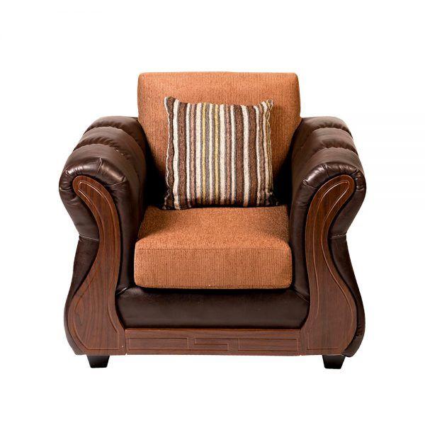 Living Homero Sofa 3 Cuerpos 2 Sillones Cafe 6