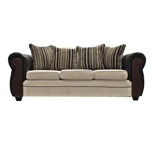 Living London Sofa 3 Cuerpos 2 Sillones Beige 2