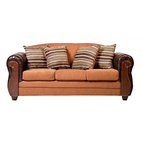 Living London Sofa 3 Cuerpos 2 Sillones Cafe 2