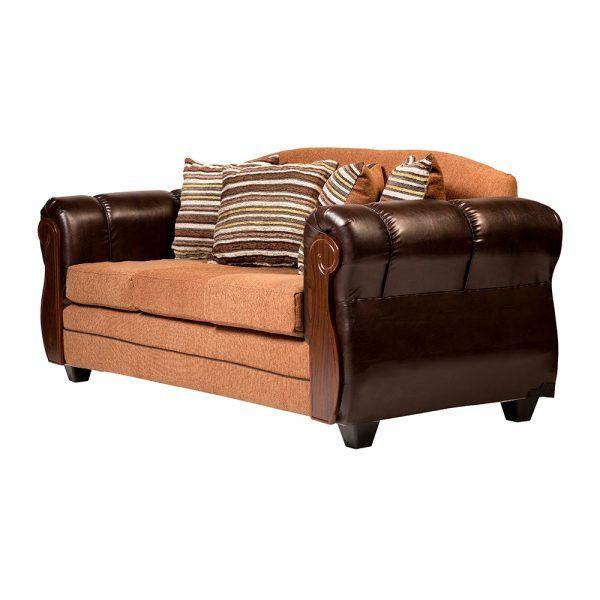 Living London Sofa 3 Cuerpos 2 Sillones Cafe 4