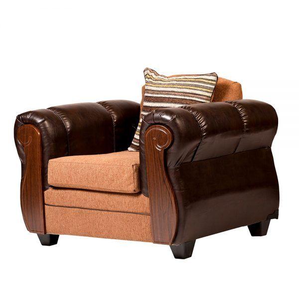 Living London Sofa 3 Cuerpos 2 Sillones Cafe 7