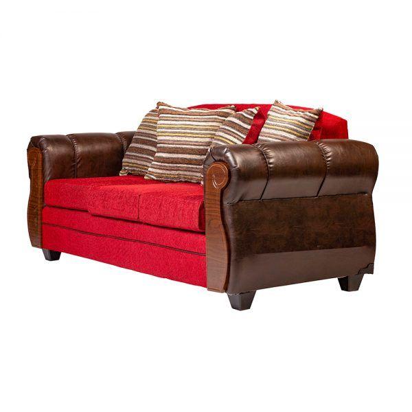 Living London Sofa 3 Cuerpos 2 Sillones Rojo 4