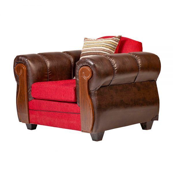 Living London Sofa 3 Cuerpos 2 Sillones Rojo 7
