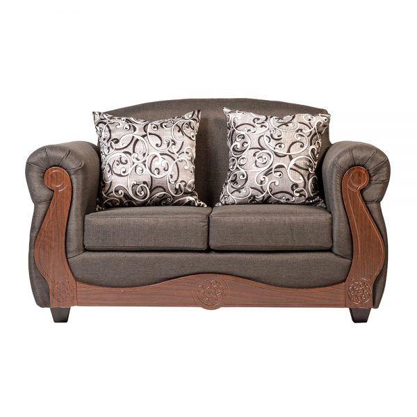 Living Merida Sofa 2 Cuerpos 2 Sillones Gris 2