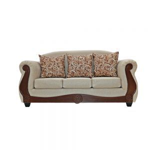 Living Merida Sofa 3 Cuerpos 2 Sillones Beige 2