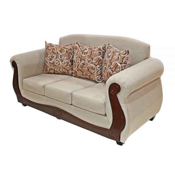 Living Merida Sofa 3 Cuerpos 2 Sillones Beige 3