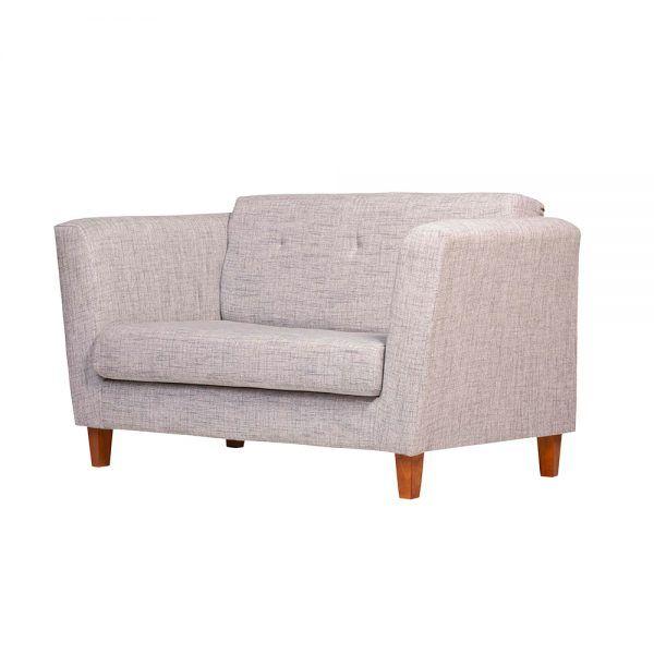 Living Miconos Sofa 2 Cuerpos 2 Sitiales Gris 4