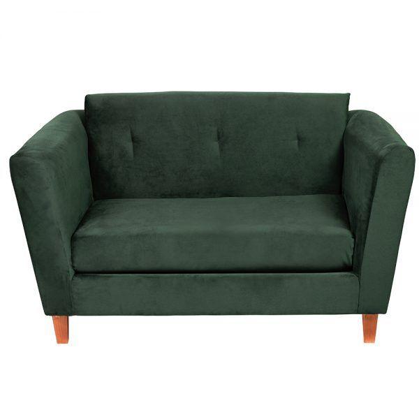 Living Miconos Sofa 2 Cuerpos Sillones Verde 3
