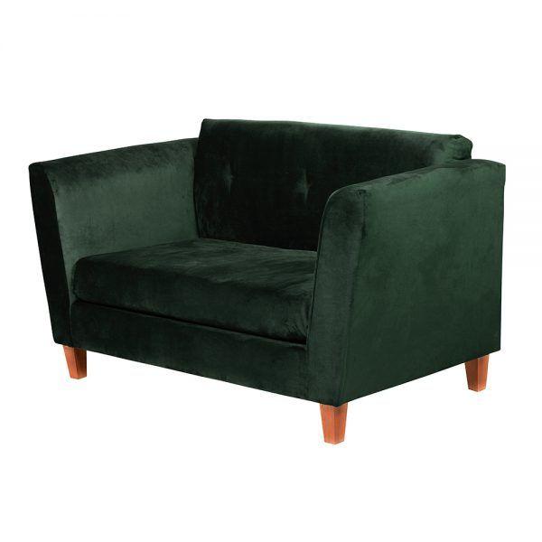 Living Miconos Sofa 2 Cuerpos Sillones Verde 4
