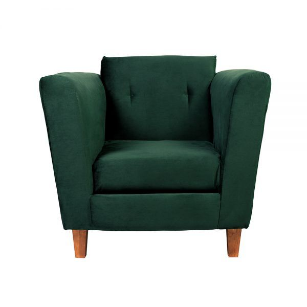 Living Miconos Sofa 2 Cuerpos Sillones Verde 5