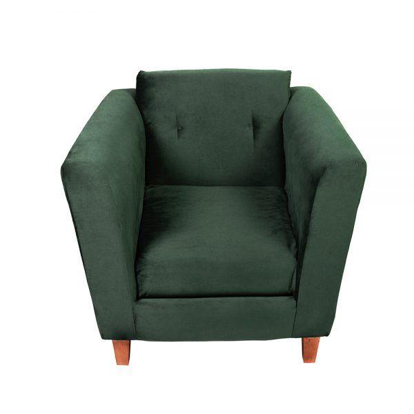 Living Miconos Sofa 2 Cuerpos Sillones Verde 6