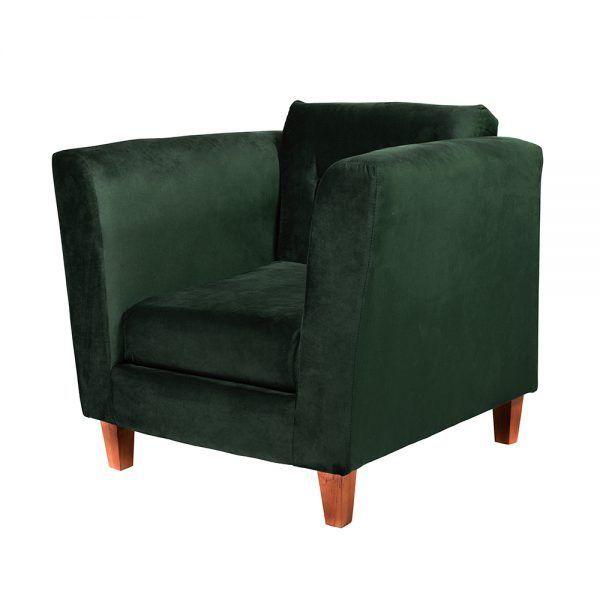 Living Miconos Sofa 2 Cuerpos Sillones Verde 7