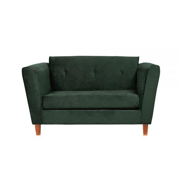 Living Miconos Sofa 2 Cuerpos Sitiales Verde 2