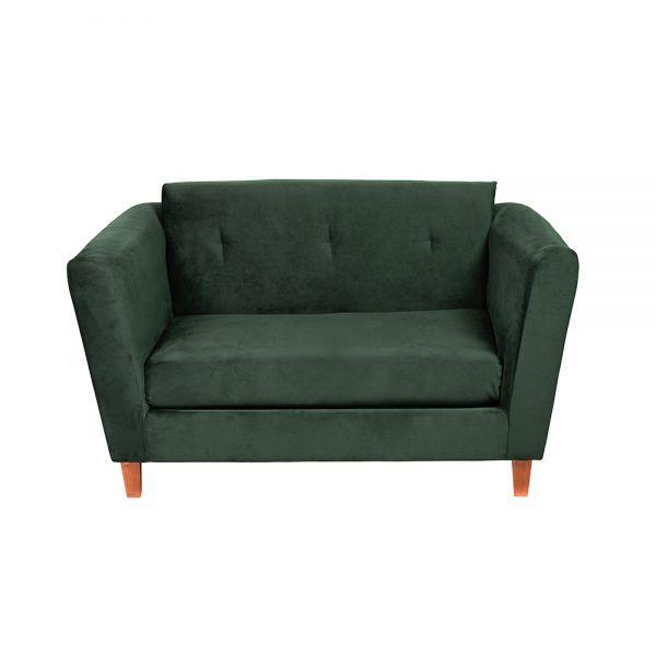 Living Miconos Sofa 2 Cuerpos Sitiales Verde 3