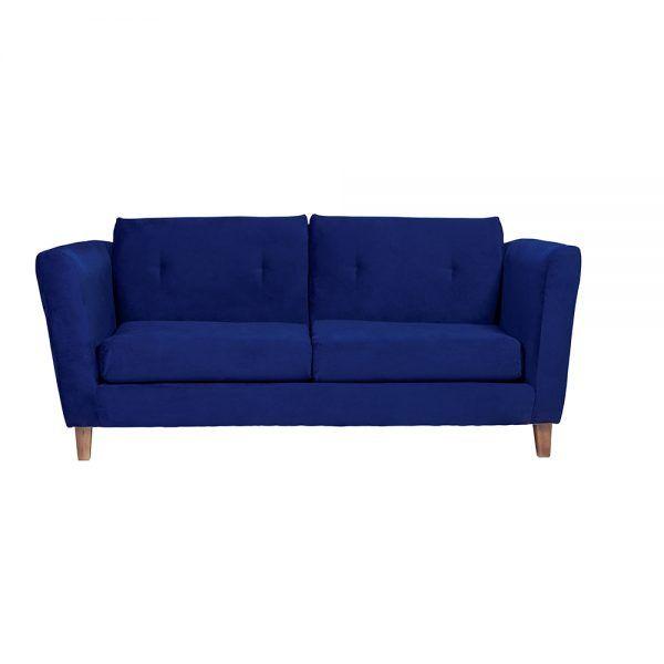 Living Miconos Sofa 3 Cuerpos Sillones Azul 2