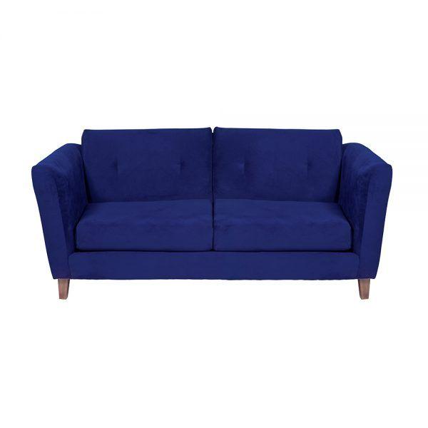 Living Miconos Sofa 3 Cuerpos Sillones Azul 3
