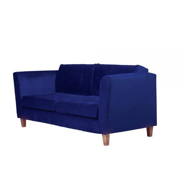 Living Miconos Sofa 3 Cuerpos Sillones Azul 4