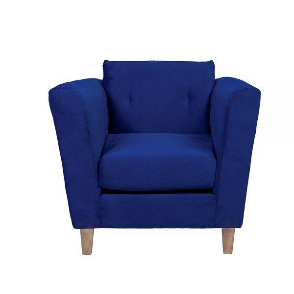 Living Miconos Sofa 3 Cuerpos Sillones Azul 5