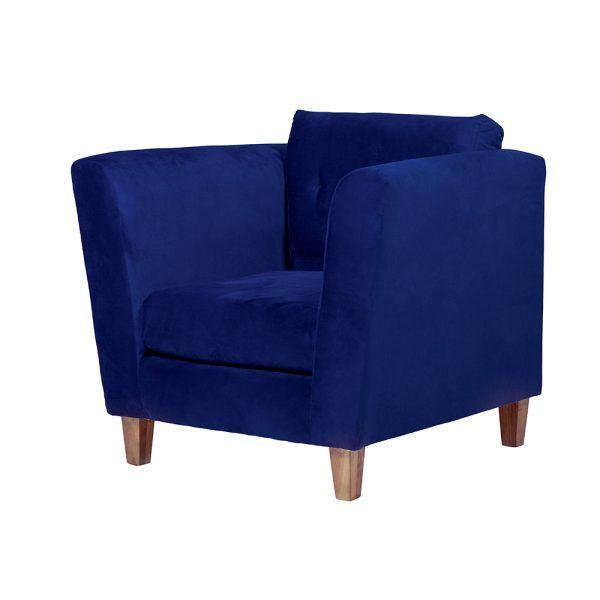 Living Miconos Sofa 3 Cuerpos Sillones Azul 6