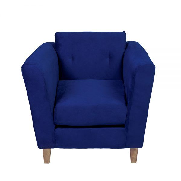 Living Miconos Sofa 3 Cuerpos Sillones Azul 7