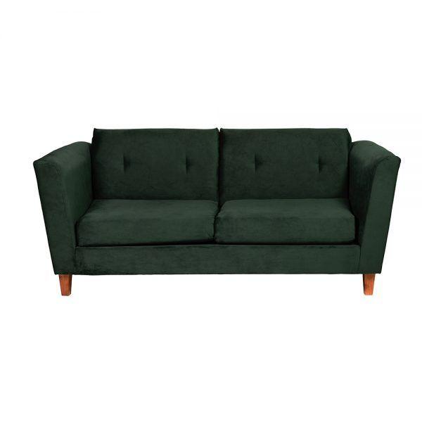 Living Miconos Sofa 3 Cuerpos Sillones Verde 2