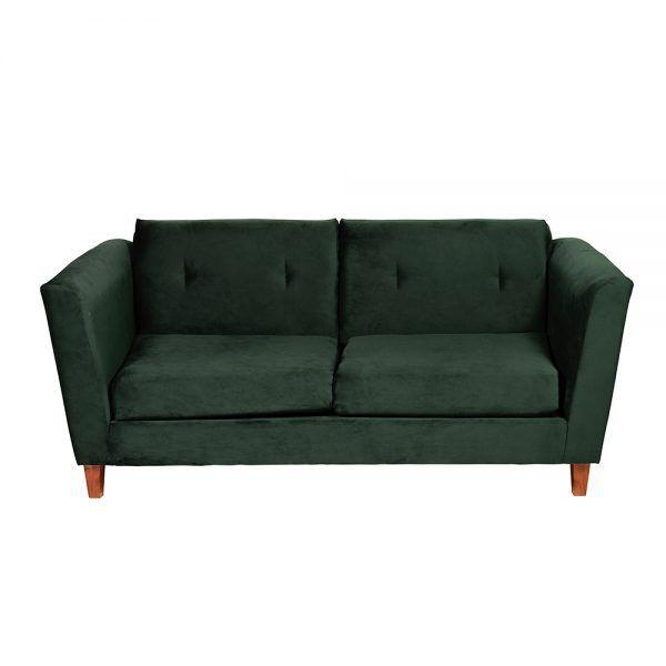 Living Miconos Sofa 3 Cuerpos Sillones Verde 4