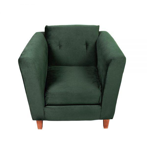 Living Miconos Sofa 3 Cuerpos Sillones Verde 6