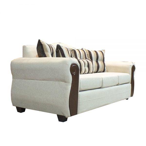 Living Monaco Sofa 3 Cuerpos 2 Poltronas Beige 3