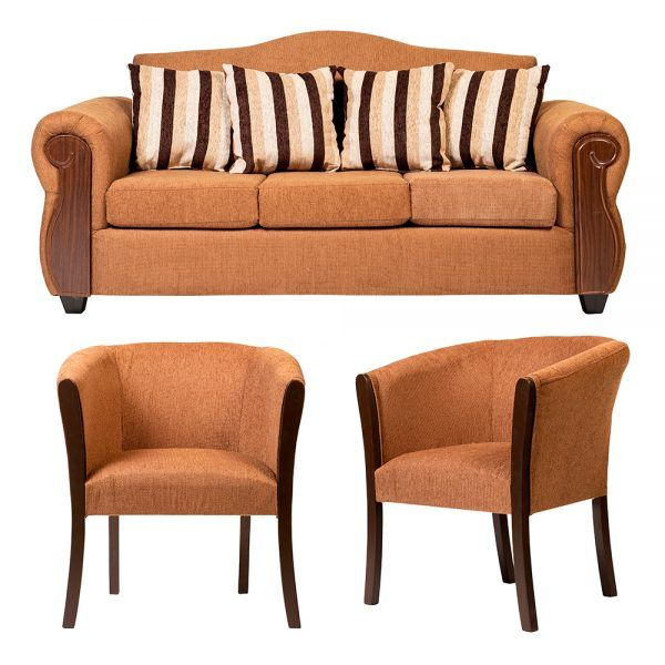 Living Monaco Sofa 3 Cuerpos 2 Poltronas Cafe 1